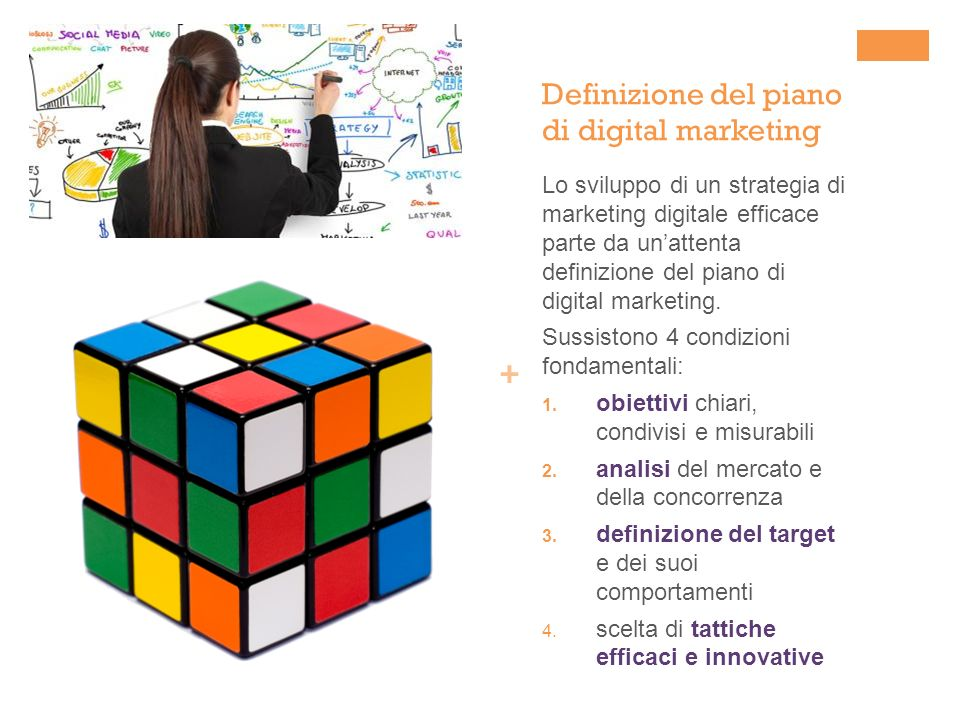 Definizione del piano di digital marketing