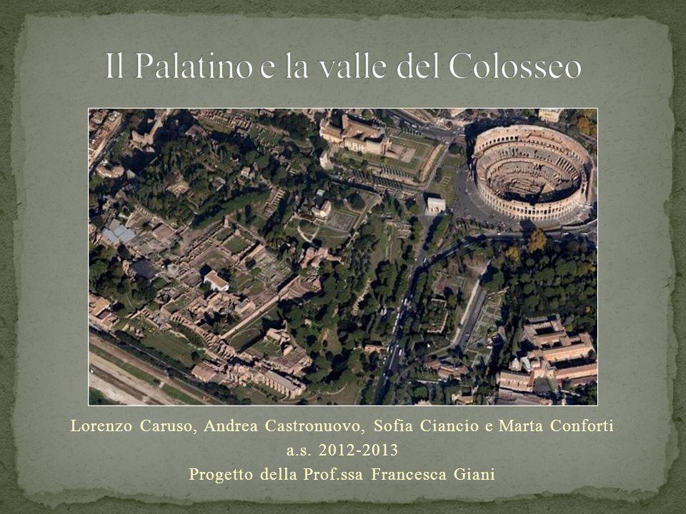 Il Palatino e la valle del Colosseo