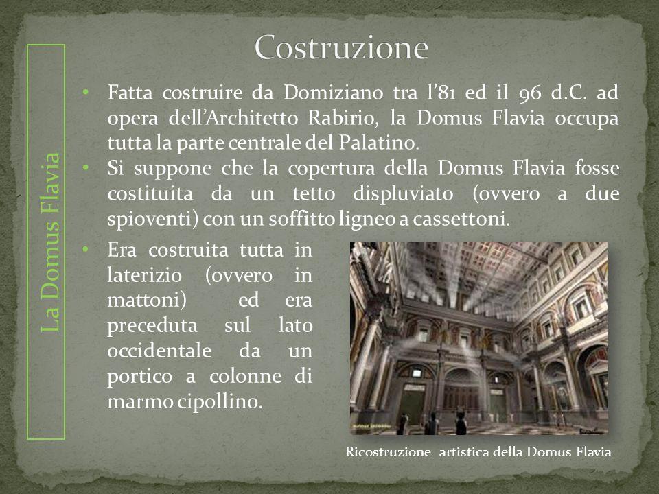 Ricostruzione artistica della Domus Flavia
