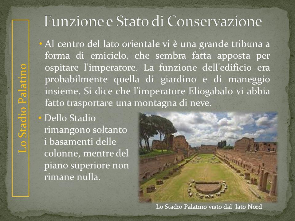Funzione e Stato di Conservazione