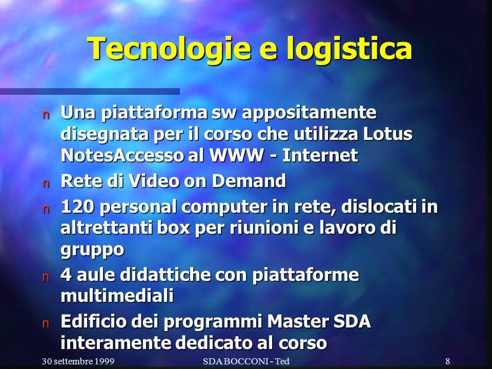 Tecnologie e logistica