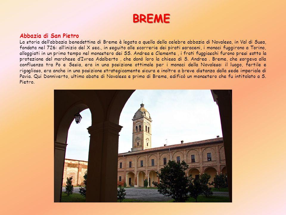 BREME Abbazia di San Pietro