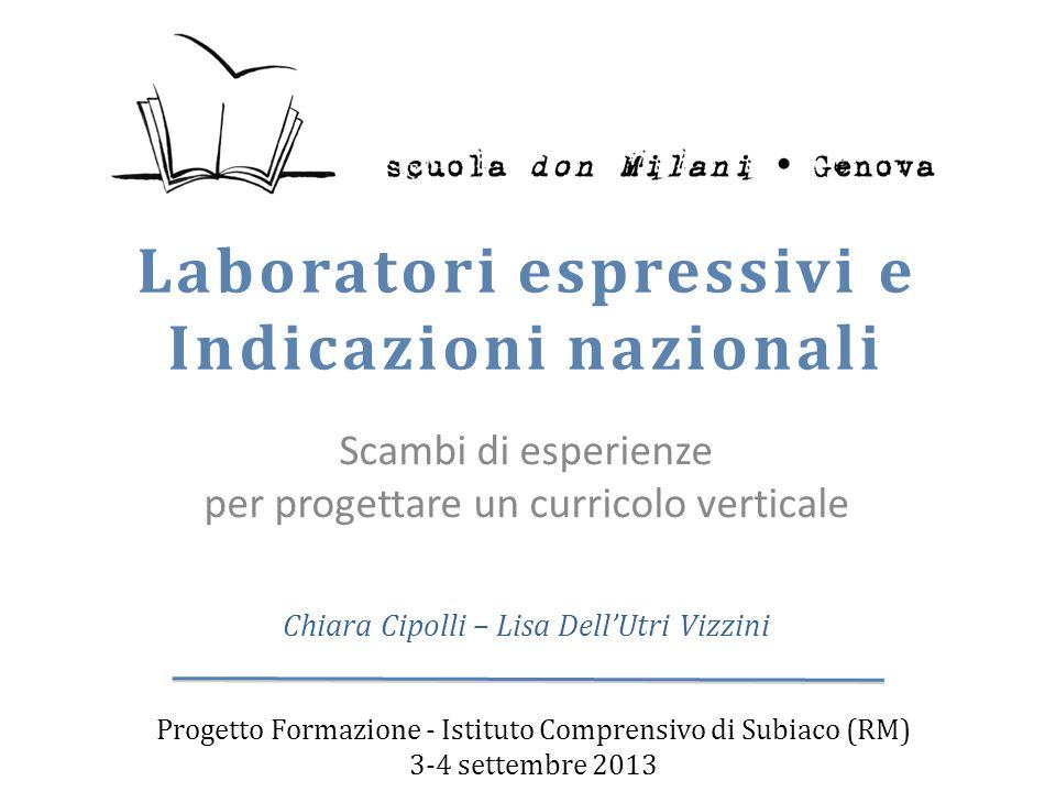Laboratori espressivi e Indicazioni nazionali