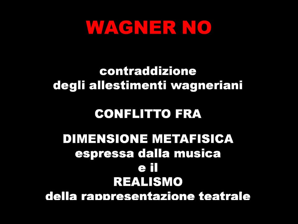 WAGNER NO