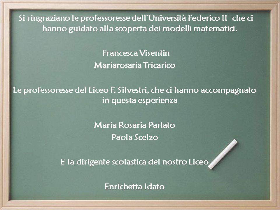 Mariarosaria Tricarico E la dirigente scolastica del nostro Liceo