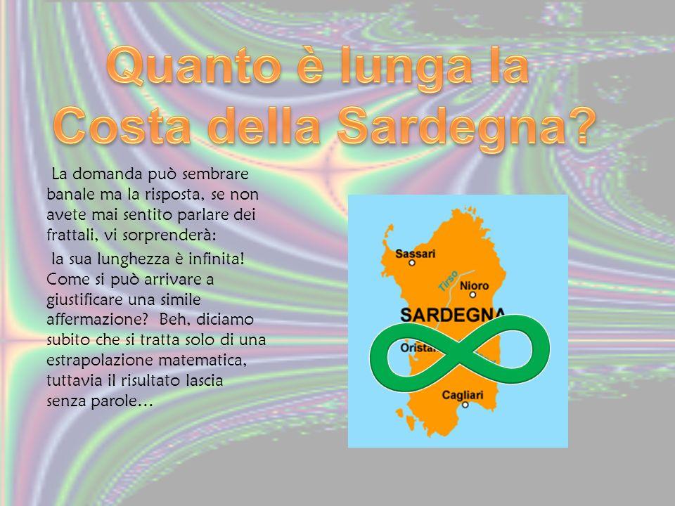∞ Quanto è lunga la Costa della Sardegna