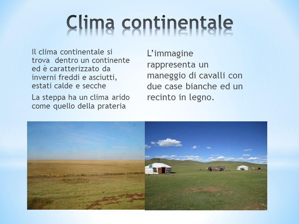 Clima continentale