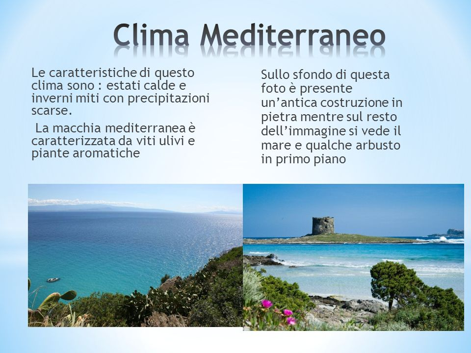 Clima Mediterraneo