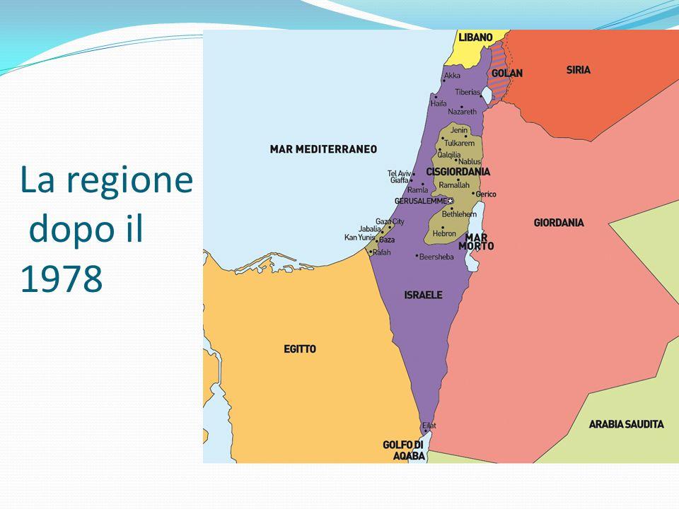 La regione dopo il 1978