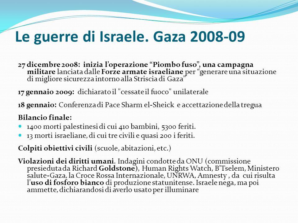 Le guerre di Israele. Gaza 2008-09