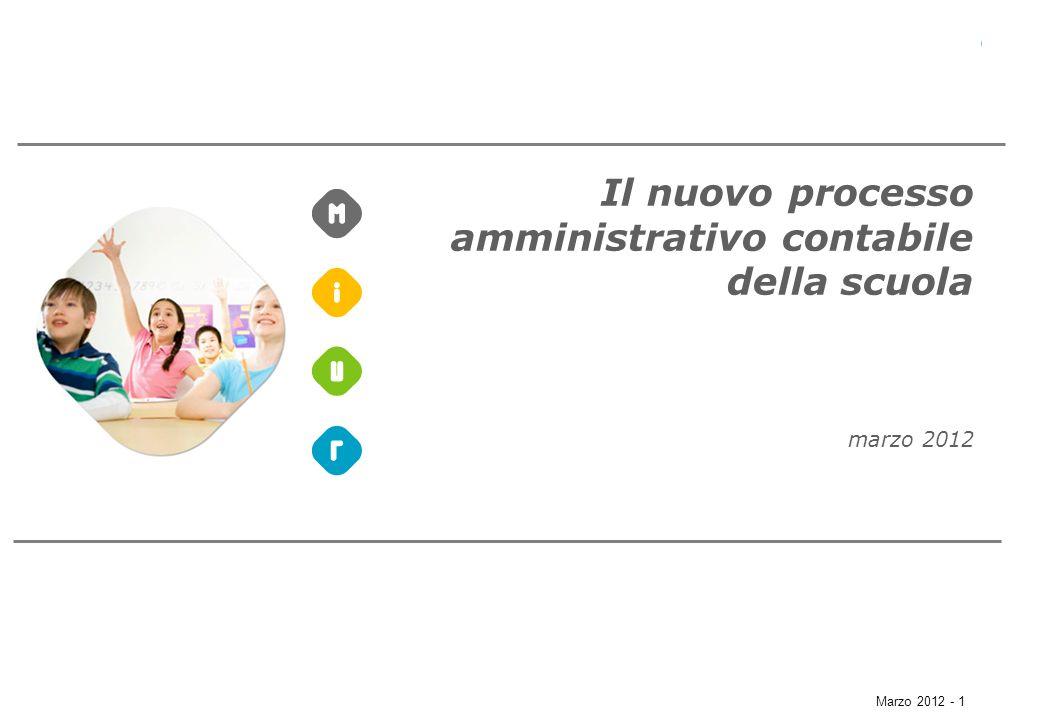 Il nuovo processo amministrativo contabile della scuola