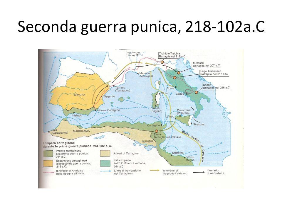 Seconda guerra punica, 218-102a.C