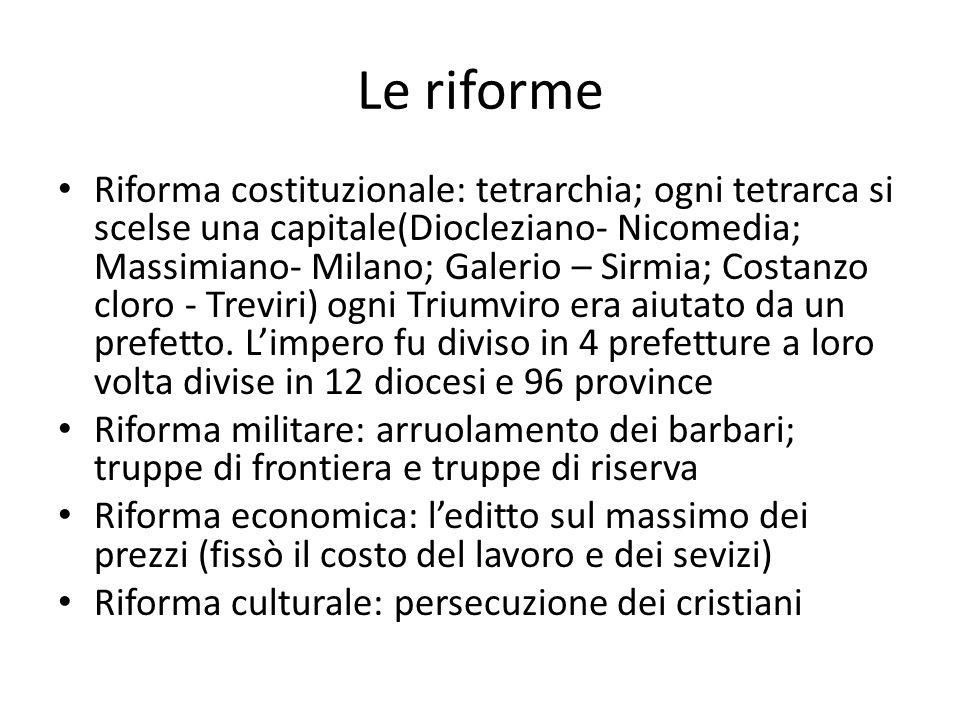 Le riforme