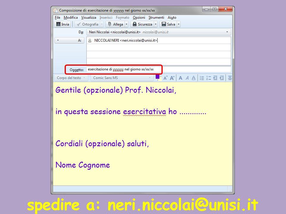 spedire a: neri.niccolai@unisi.it