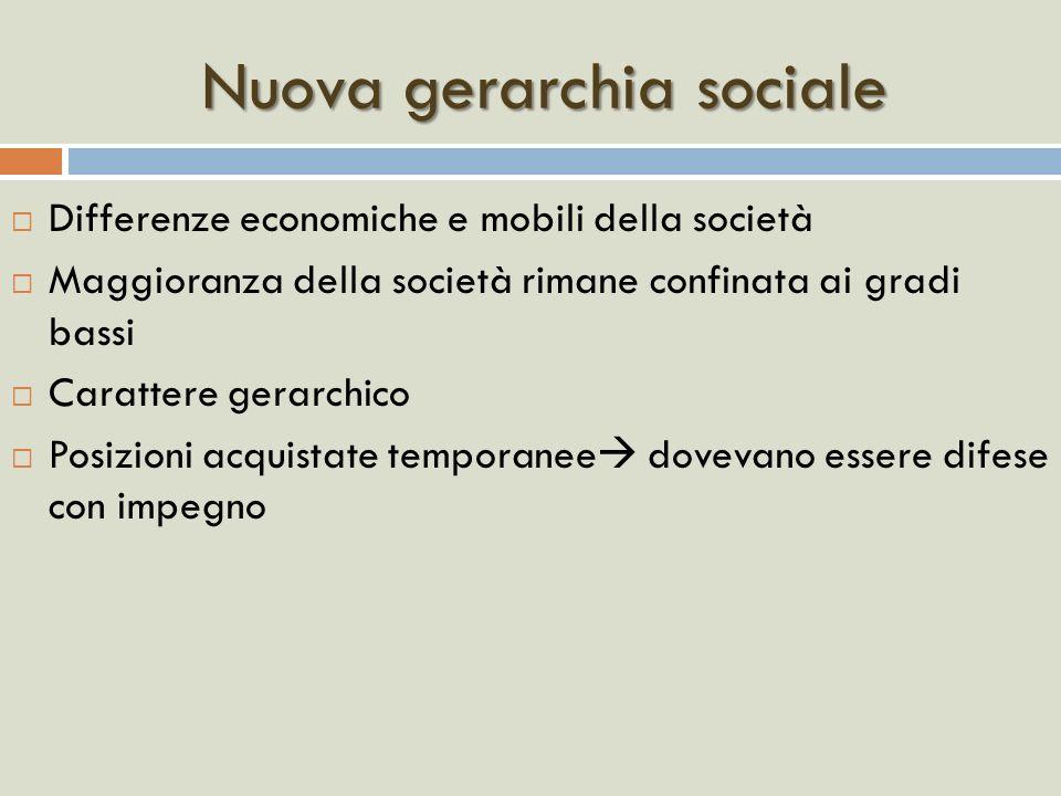 Nuova gerarchia sociale