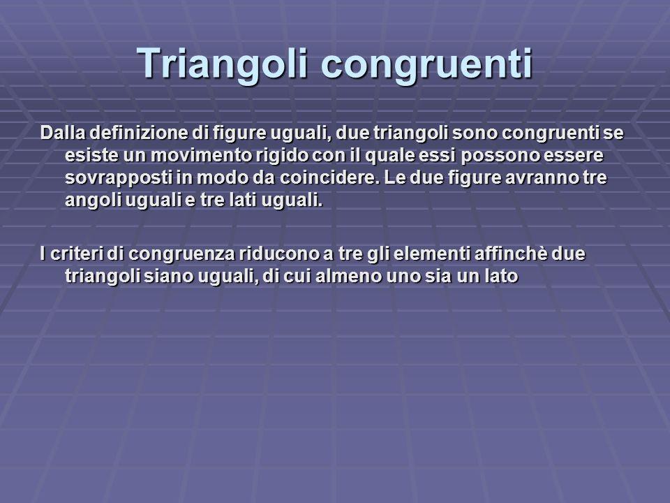 Triangoli congruenti