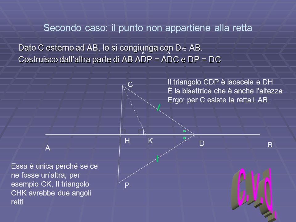I triangoli ppt scaricare for Punto p esterno alla circonferenza