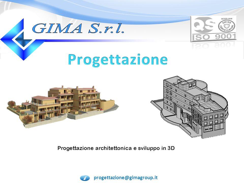 Progettazione architettonica e sviluppo in 3D