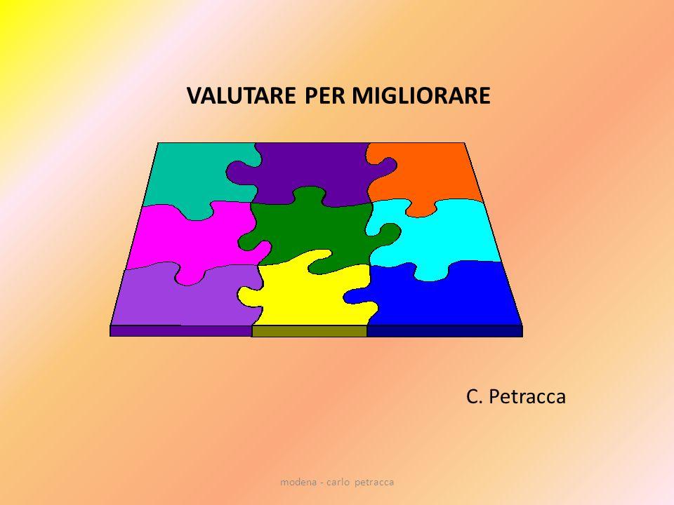 VALUTARE PER MIGLIORARE