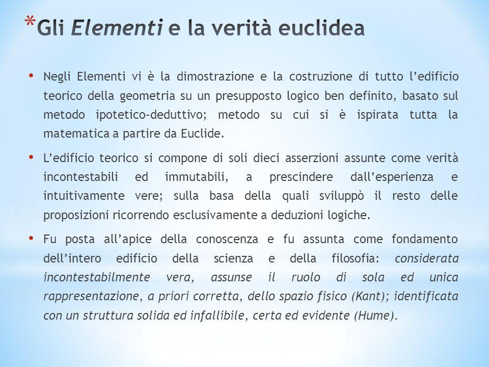 Gli Elementi e la verità euclidea