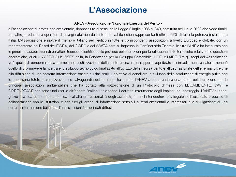 ANEV - Associazione Nazionale Energia del Vento -
