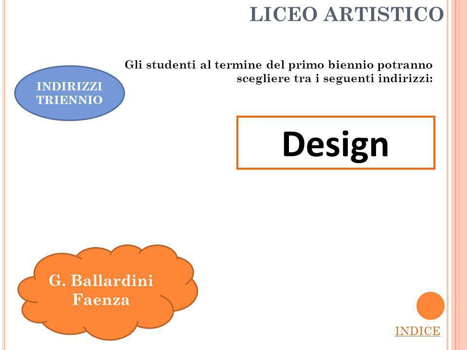 Design LICEO ARTISTICO G. Ballardini Faenza
