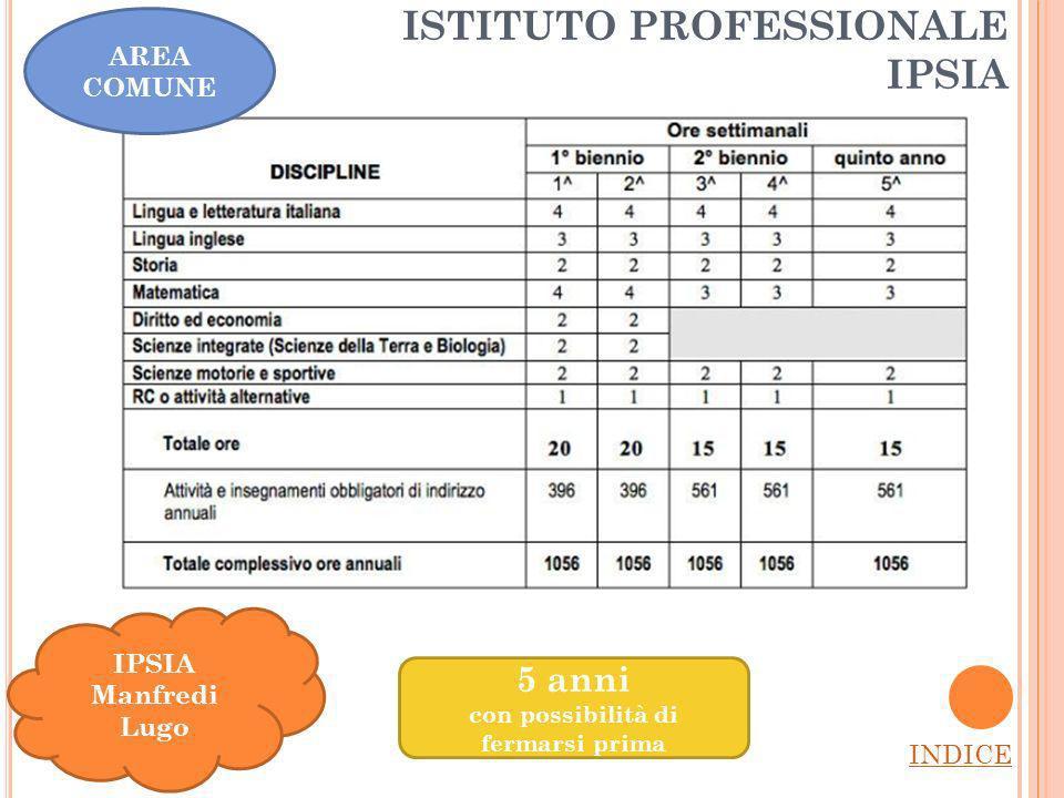 ISTITUTO PROFESSIONALE IPSIA