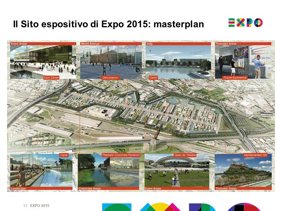 Il Sito espositivo di Expo 2015: masterplan