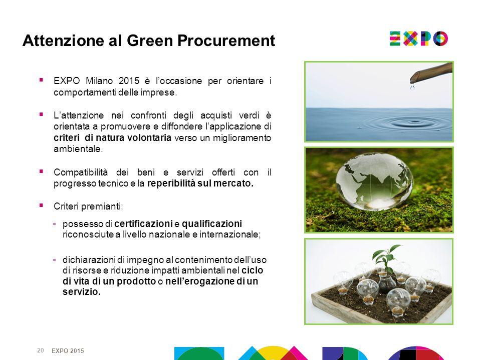 Attenzione al Green Procurement