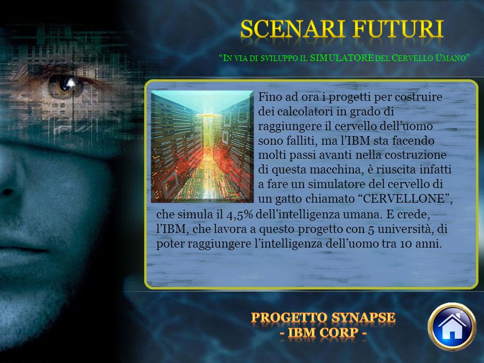In via di sviluppo il SIMULATORE del Cervello Umano