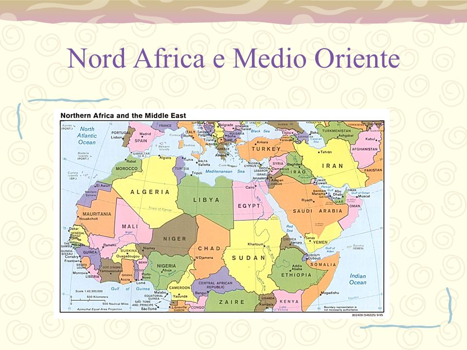 Nord Africa e Medio Oriente