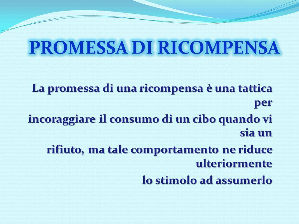 PROMESSA DI RICOMPENSA