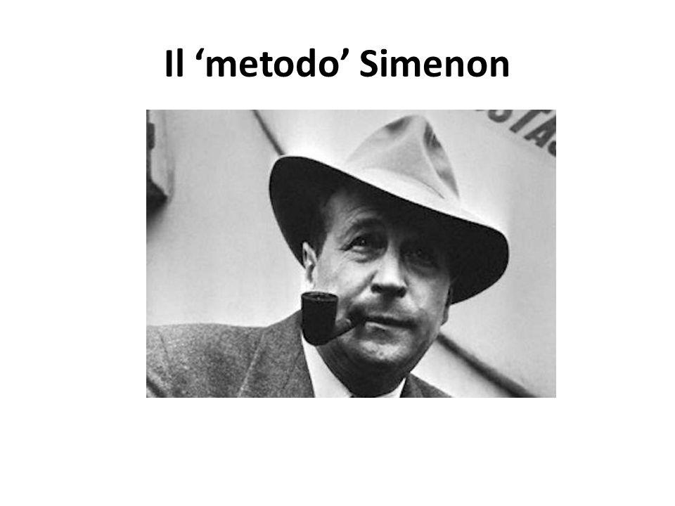 Il 'metodo' Simenon