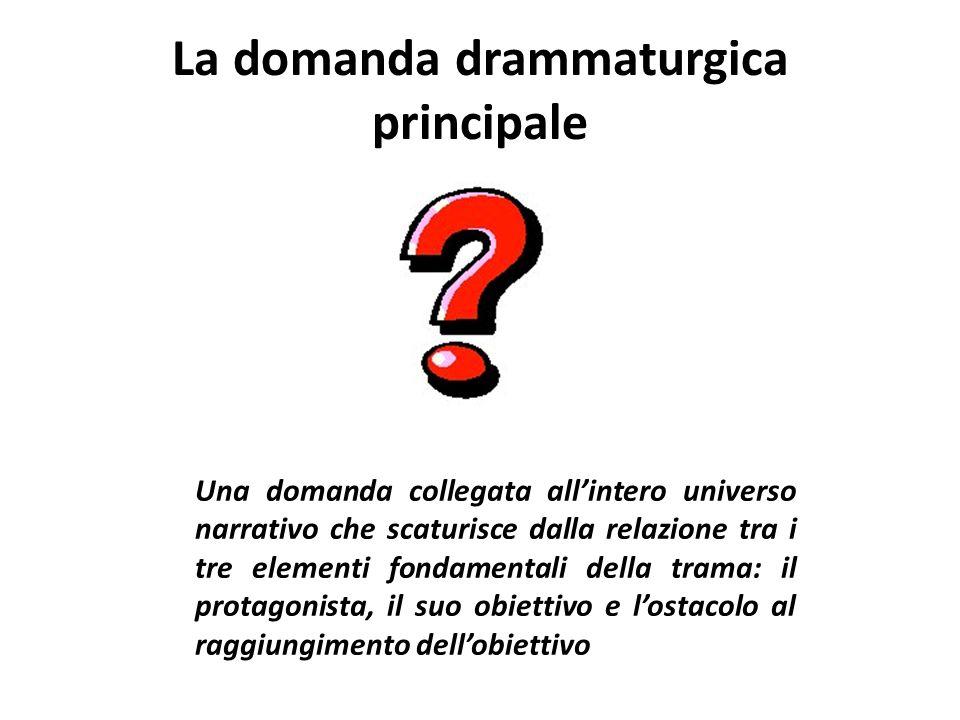 La domanda drammaturgica principale