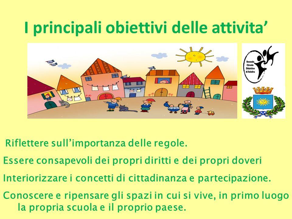 I principali obiettivi delle attivita'