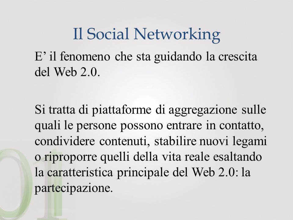 Il Social Networking