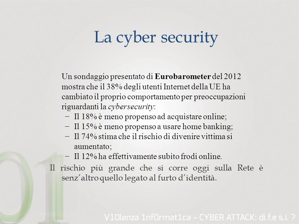 La cyber security