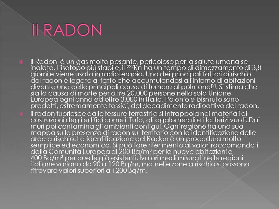Il RADON