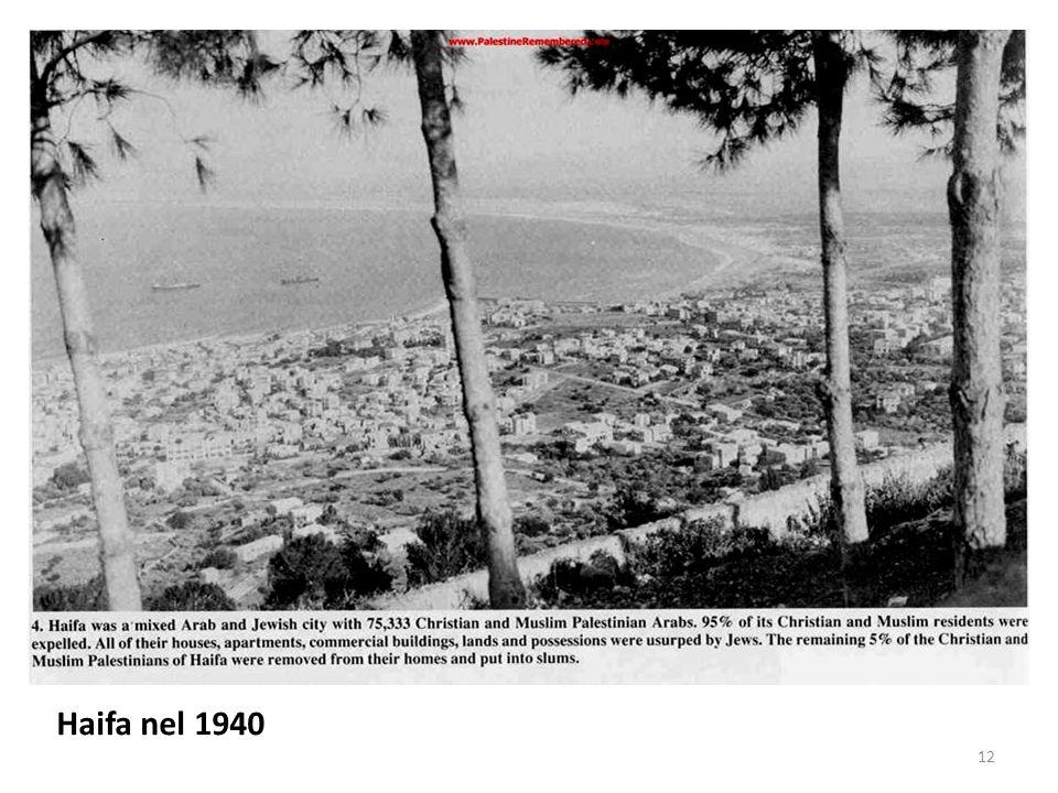 Haifa nel 1940