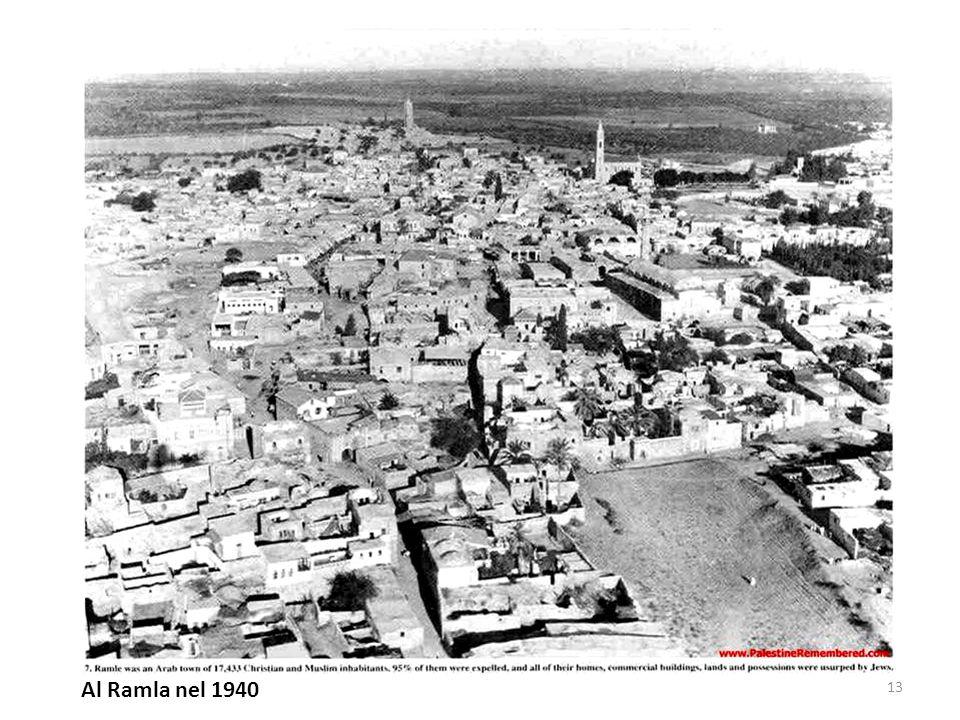 Al Ramla nel 1940