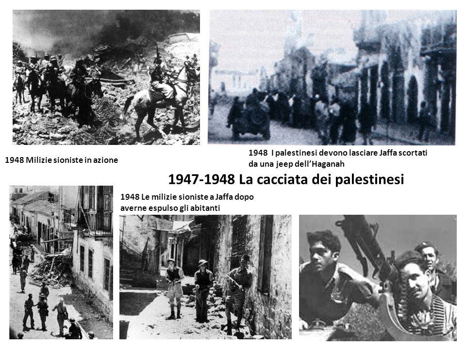 1947-1948 La cacciata dei palestinesi