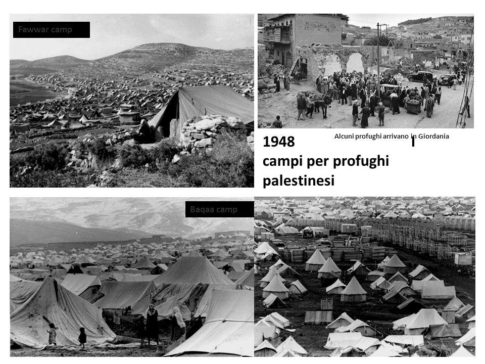 1948 I campi per profughi palestinesi