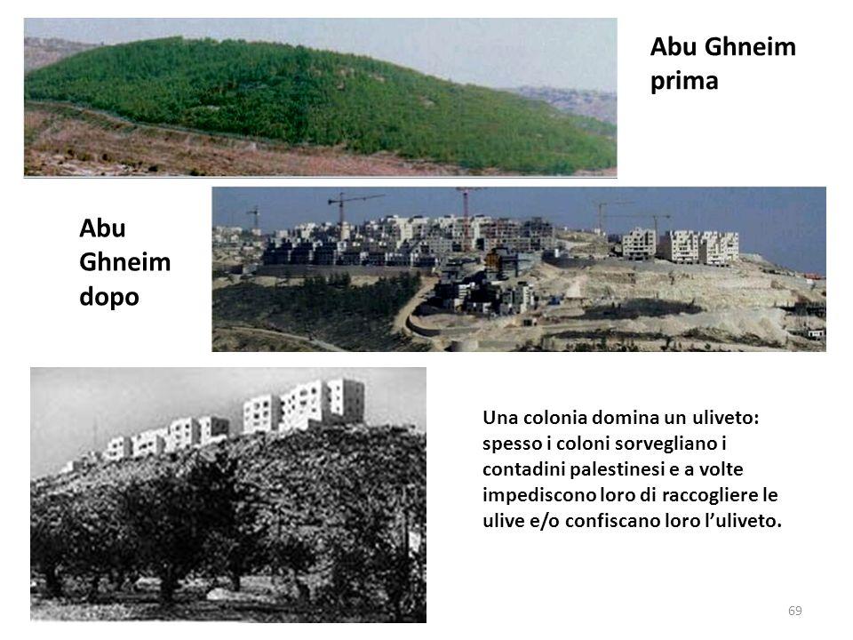 Abu Ghneim prima Abu Ghneim dopo