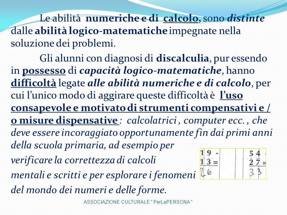 verificare la correttezza di calcoli