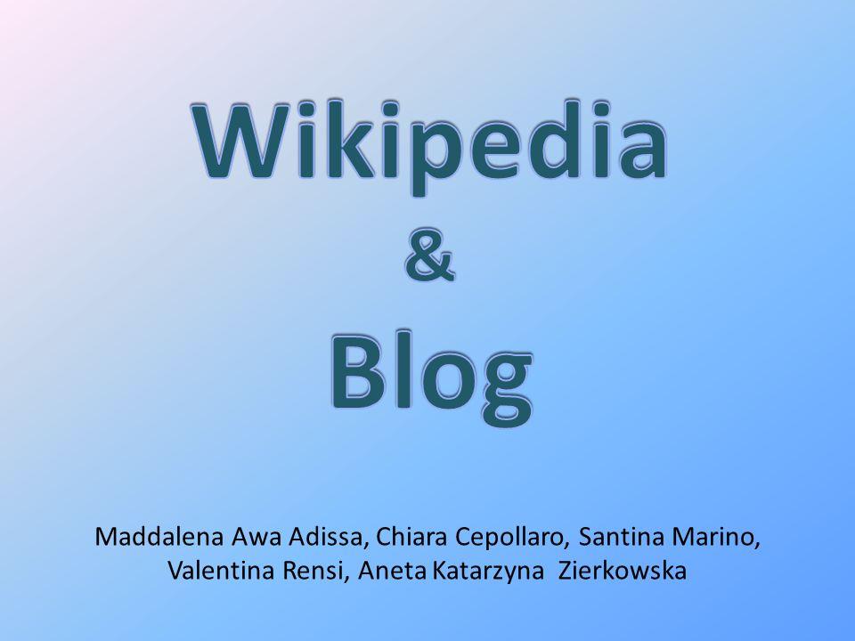 Wikipedia & Blog Maddalena Awa Adissa, Chiara Cepollaro, Santina Marino, Valentina Rensi, Aneta Katarzyna Zierkowska.