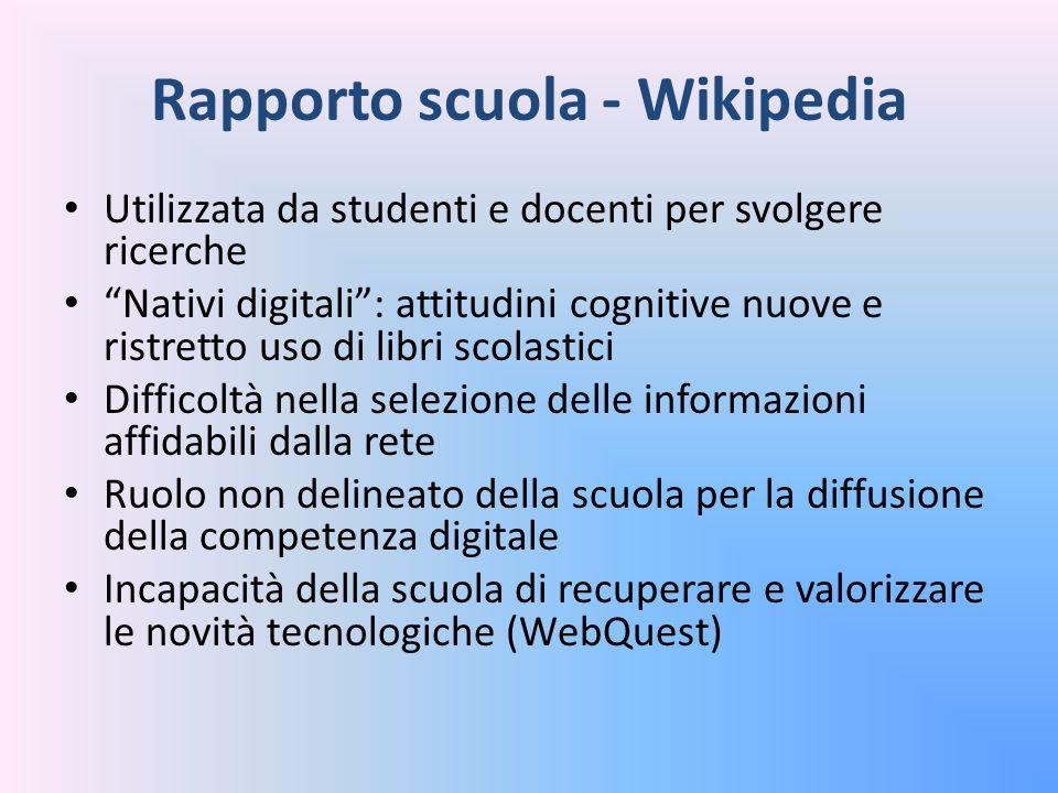 Rapporto scuola - Wikipedia
