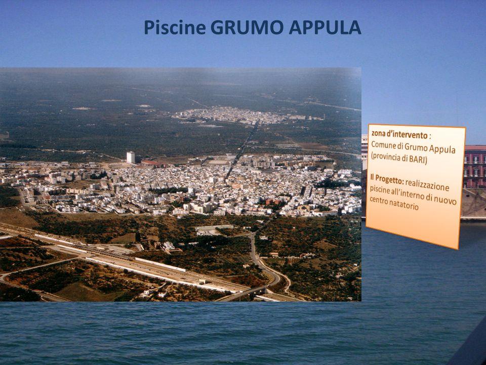 Piscine GRUMO APPULA zona d'intervento : Comune di Grumo Appula (provincia di BARI)