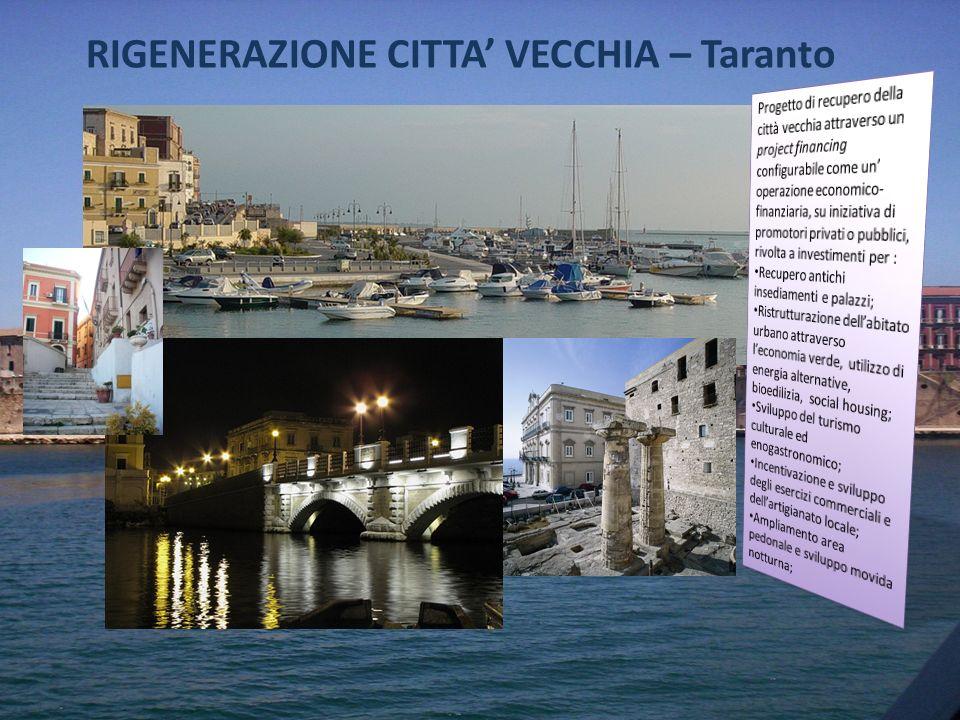RIGENERAZIONE CITTA' VECCHIA – Taranto