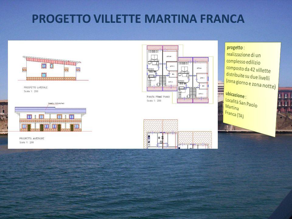 PROGETTO VILLETTE MARTINA FRANCA