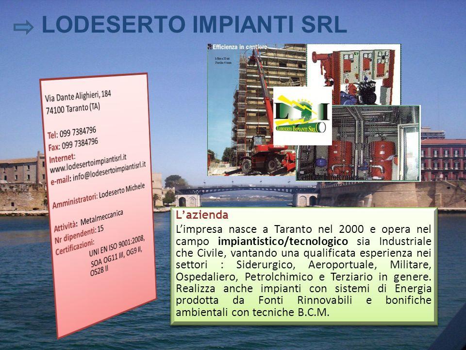 LODESERTO IMPIANTI SRL